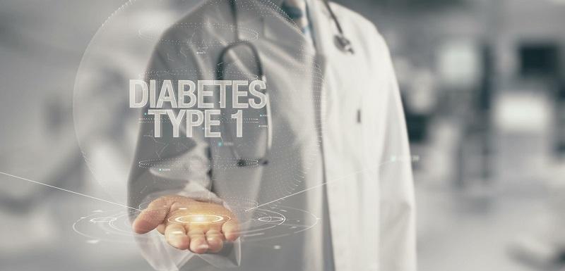 "Médecin tenant dans la main ""diabète de Type 1"""