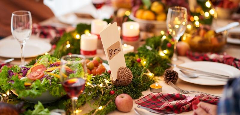 Repas de Noël pour diabétiques